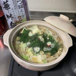 華味鳥 なべ スープ