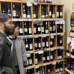 ヴェレノージ ワインコーナー