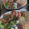珍味も皿盛り お菓子の袋詰め 飯田市