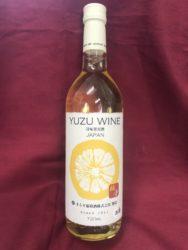 まるき葡萄酒 ゆずワイン
