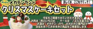 クリスマスケーキ 飯田市