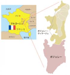 ヴィラージュヌーヴォー 地図